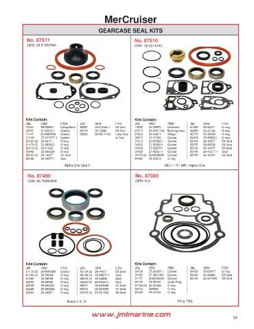 Parts Master PM 7044NA Oil and Grease Seal 18264